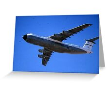 SAC C-5 GALAXIE Greeting Card