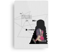 the impossible girl, oswin oswald Metal Print