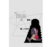 The Impossible Girl, Oswin Oswald - Doctor Who | #InfiniteTARDISMerch Photographic Print