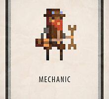 Pixel RPG - Mechanic by Andrew Choo