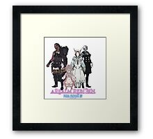 Leaders of Eorzea - Final Fantasy XIV: A Realm Reborn Framed Print