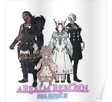 Leaders of Eorzea - Final Fantasy XIV: A Realm Reborn Poster