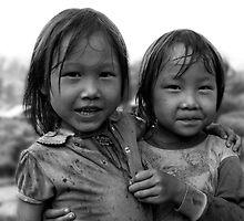 Children of Laos by Ian Batterbee