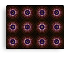 Fractal Bullseye Canvas Print