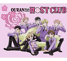 Ouran High School Host Club  Photographic Print