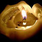 Gutted Candle by Jenebraska
