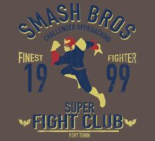 Port town Fighter Baby Tee
