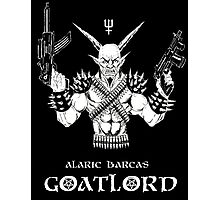 Goat Lord Left Hand Path Photographic Print