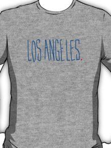 Los Angeles - City Scroll T-Shirt