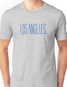 Los Angeles - City Scroll Unisex T-Shirt