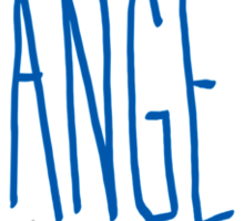 Los Angeles - City Scroll Sticker