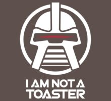 Cylon — I am not a toaster, Retro Kids Clothes