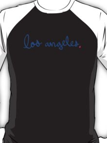 Los Angeles Cursive - City Scroll T-Shirt