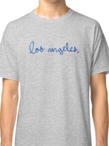 Los Angeles Cursive - City Scroll Classic T-Shirt