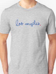 Los Angeles Cursive - City Scroll Unisex T-Shirt