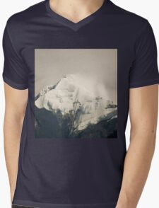 Pandim's peak in the Himalayas Mens V-Neck T-Shirt