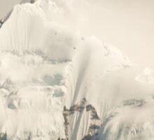 Pandim's peak in the Himalayas Sticker