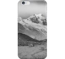 Kanchenjunga and Hikers iPhone Case/Skin