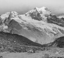 Kanchenjunga and Hikers Sticker