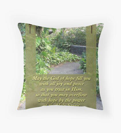 Peace & Hope Throw Pillow