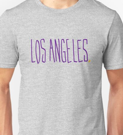 Los Angeles LAL - City Scroll Unisex T-Shirt