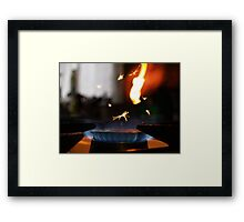 Kaboom Framed Print