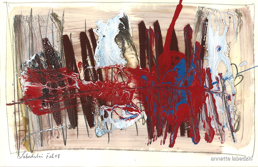painting 177 by annette labedzki
