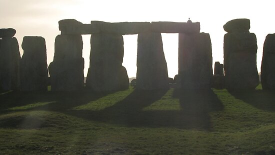 Stonehenge is Timeless by Cleburnus