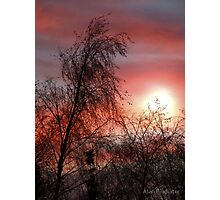 A New Sunrise A New Day Photographic Print