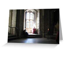 Medieval Noon Greeting Card