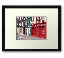 Irish Pubs Framed Print
