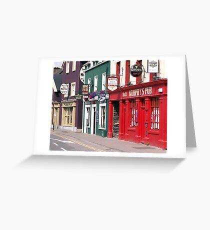 Irish Pubs Greeting Card
