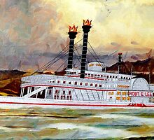 The Robert E Lee Paddle Wheeler 1866 - all products by Dennis Melling