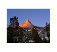 Cathedral Peak Art Print