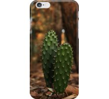 Young Prickly pear leafs... iPhone Case/Skin