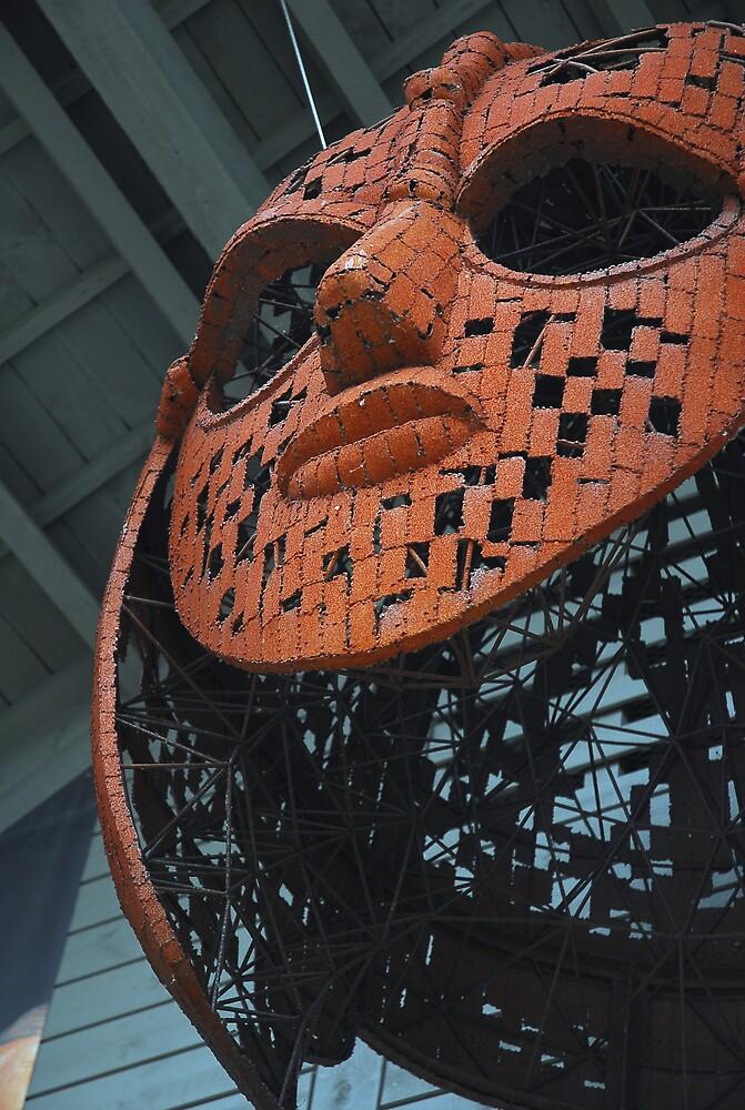 Sutton Hoo viking mask by westie71