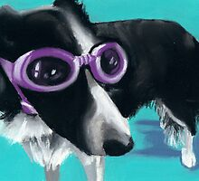 Border Collie by ria hills