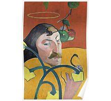 Self Portrait of Paul Gauguin Poster