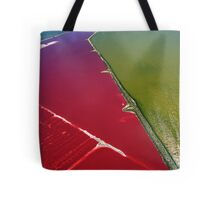 Red salt delta Tote Bag