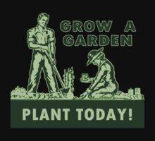 Grow A Garden - Plant Today! Baby Tee