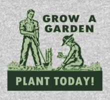 Grow A Garden - Plant Today! One Piece - Long Sleeve