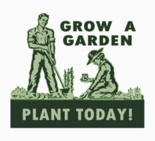 Grow A Garden - Plant Today! Baby Tee