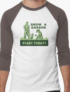 Grow A Garden - Plant Today! Men's Baseball ¾ T-Shirt