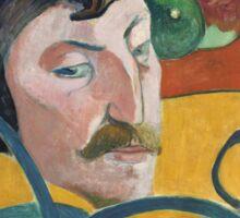 Self Portrait of Paul Gauguin Sticker