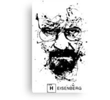 HEISENBERG WALLY WHITE Canvas Print