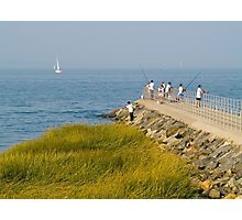 Fishing Jetty Photographic Print