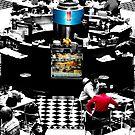 Checker Cafe by JimFilmer