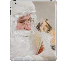 Noel Meets Santa iPad Case/Skin