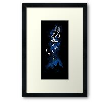 Stranger's Arrival - Centered Framed Print