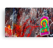 The Holy Wall Canvas Print